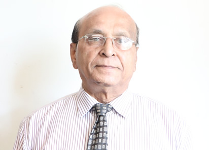 Professor A. U. Patel Photo