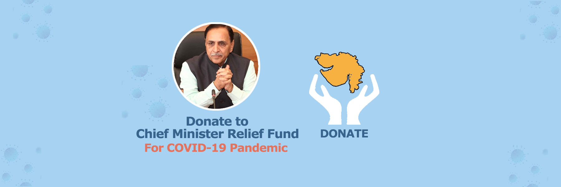 COVID19 - Donate to CM Relief Fund Gujarat