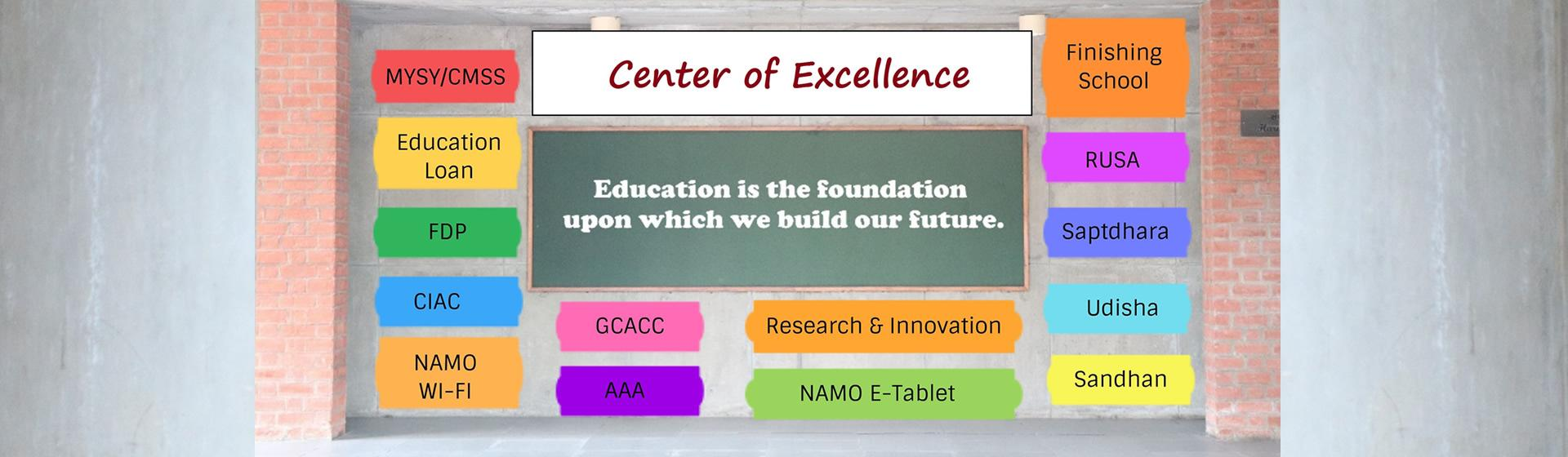 Centre of Excellence KCG Banner