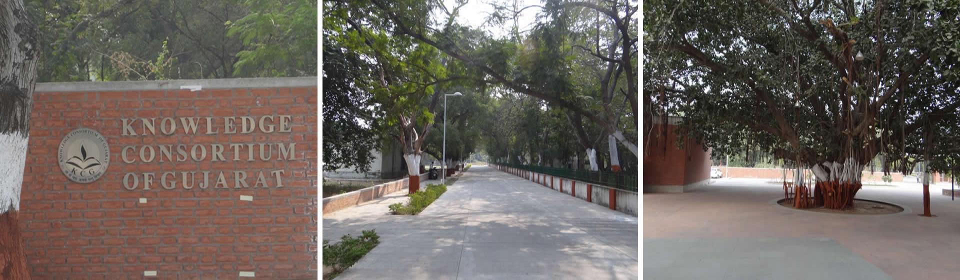 નોલેજ કોન્સોર્ટિયમ ઓફ ગુજરાત - કોલેજ પ્રવેશદ્વાર ફોટો